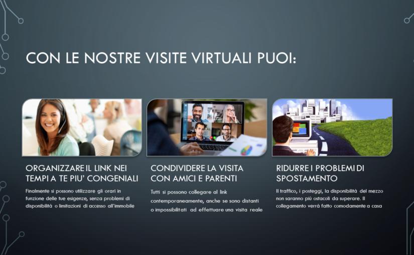 Le visite immobiliari virtuali